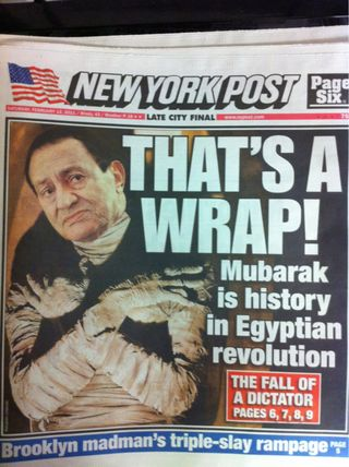 The Egyptian Revolution in US Papers